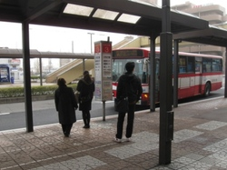 八乙女駅バス停