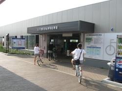 太子堂駅に自転車を置く