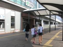 太子堂駅でJRに乗る