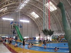 仙台ハイランドの屋内プール